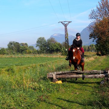 Stage d'équitation de pleine nature à Sassenage