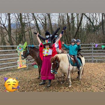 Les poneys chez toi pour ton anniversaire