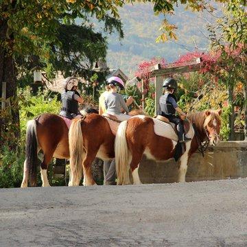 Accompagnez votre enfant en balade à poney